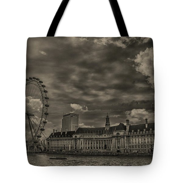 London Eye Tote Bag by Martin Newman