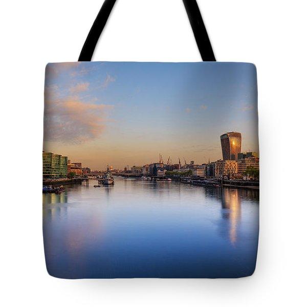 London Panorama Tote Bag