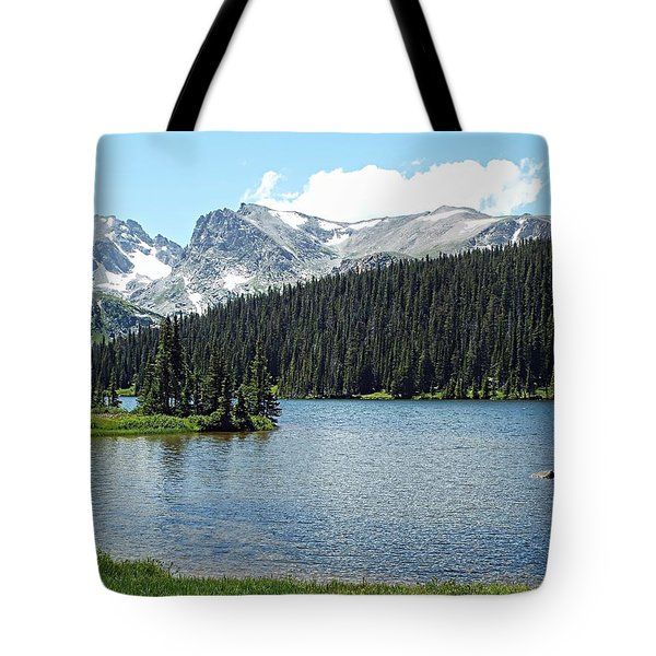 Long Lake Splender  Tote Bag by Joseph Hendrix