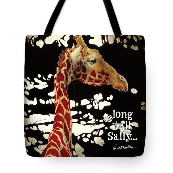 Tote Bag featuring the painting long tall Sally... by Will Bullas