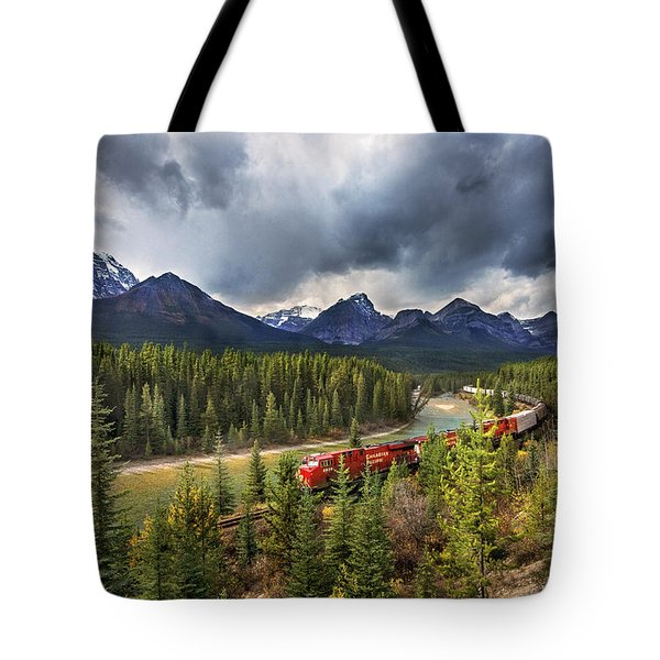 Long Train Running Tote Bag