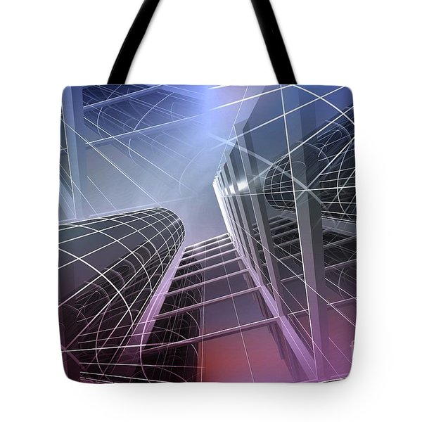 Look Into The Sky Tote Bag