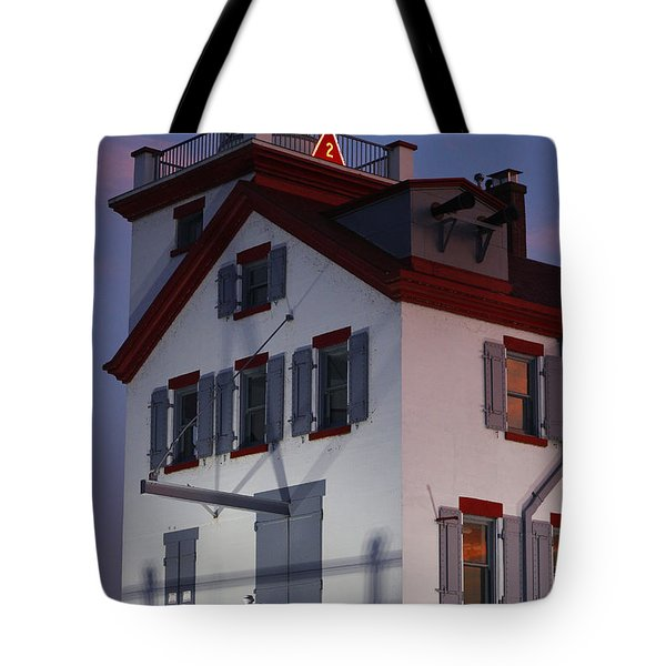 Lorain Lighthouse Tote Bag