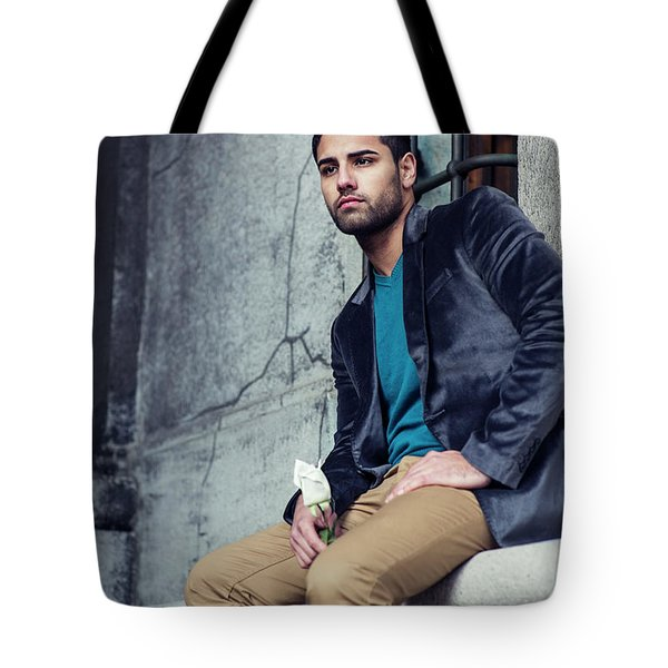 Lost Rose Tote Bag