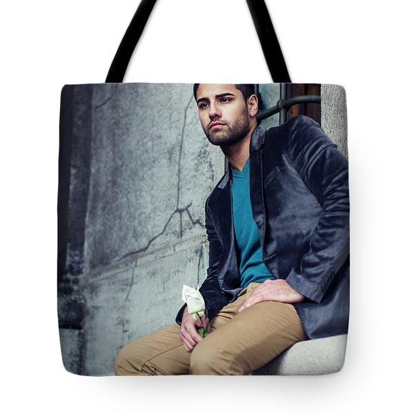 Lost Rose Tote Bag