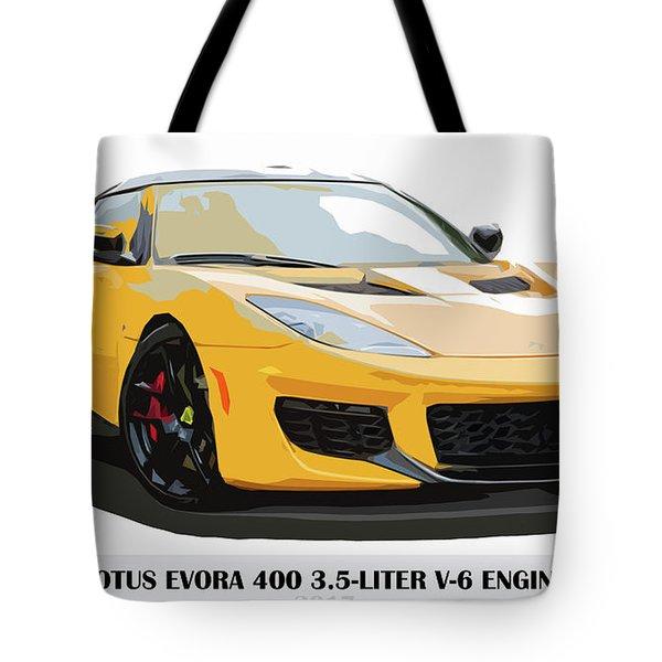2017 Lotus Evora 400 Camshaft: Lotus Car Tote Bags