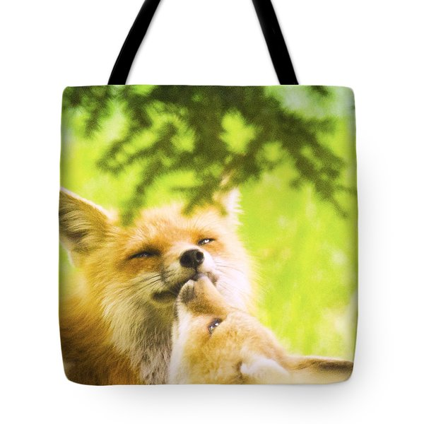 Love And Kisses Tote Bag