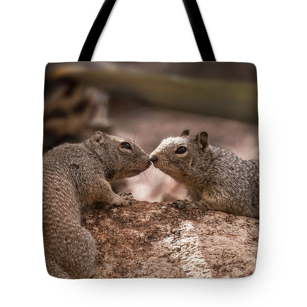 Tote Bag featuring the photograph Love Is In The Air  by Saija Lehtonen