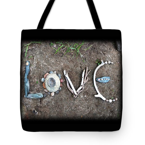 Tote Bag featuring the photograph Love by Tanielle Childers