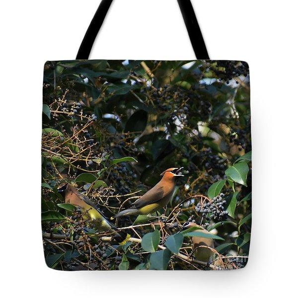 Love Those Berries Tote Bag