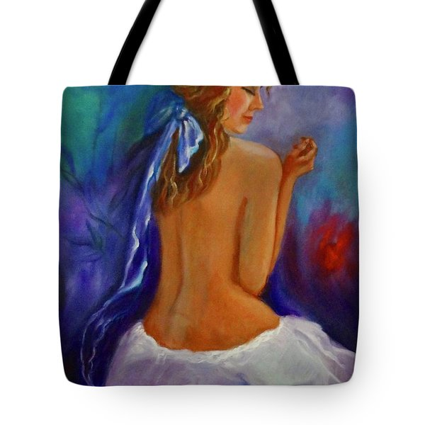 Lovely Daughter Tote Bag