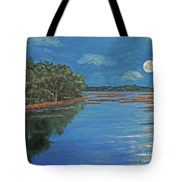 Lowcountry Moon Tote Bag