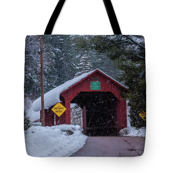 Lower Covered Bridge Tote Bag