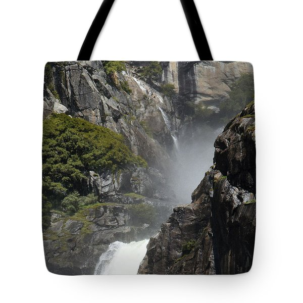 Lower Yosemite Falls Tote Bag