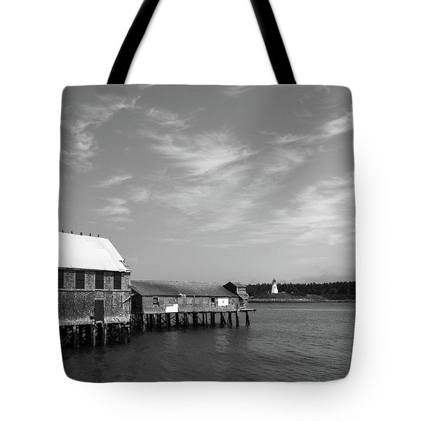 Lubec, Maine Tote Bag