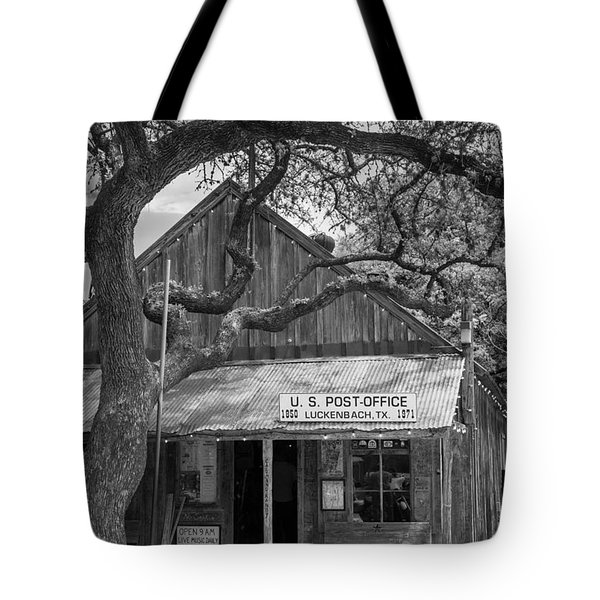 Luckenbach Post Office Tote Bag