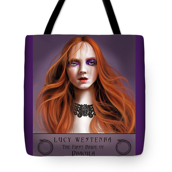 Lucy Westenra Tote Bag by James Christopher Hill