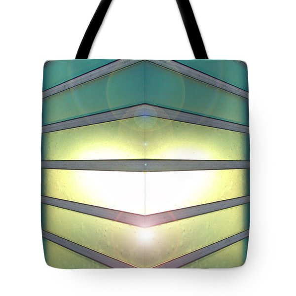 Tote Bag featuring the photograph Luminous Corner by John Norman Stewart