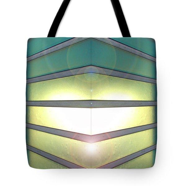 Luminous Corner Tote Bag