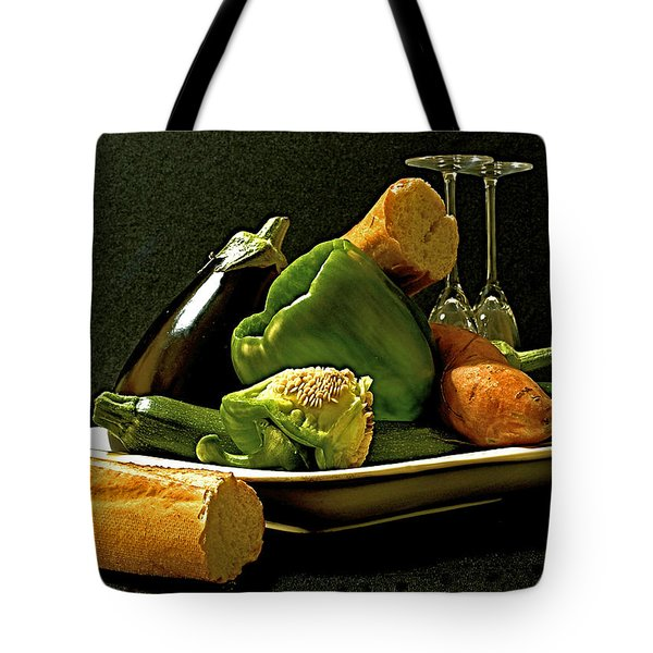 Lunch Time Tote Bag by Elf Evans