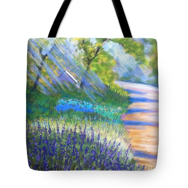 Lupens On Buccaneer Road Tote Bag