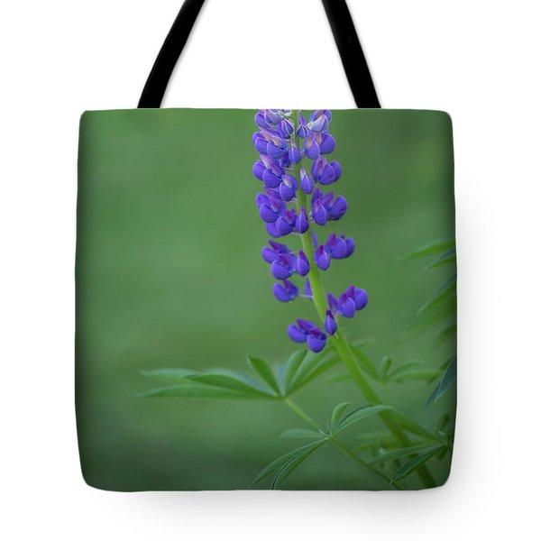 Graceful Lupine Tote Bag