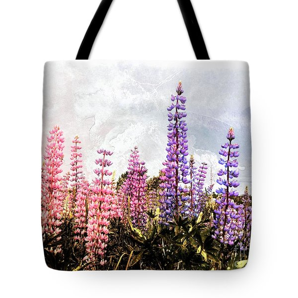 Lupins Tote Bag