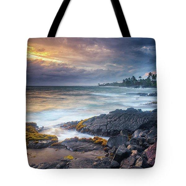 Lyman's Sunset Tote Bag
