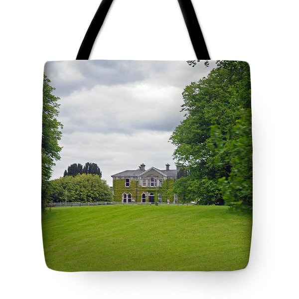 Lyrath Estate Hotel Tote Bag by Cindy Murphy - NightVisions