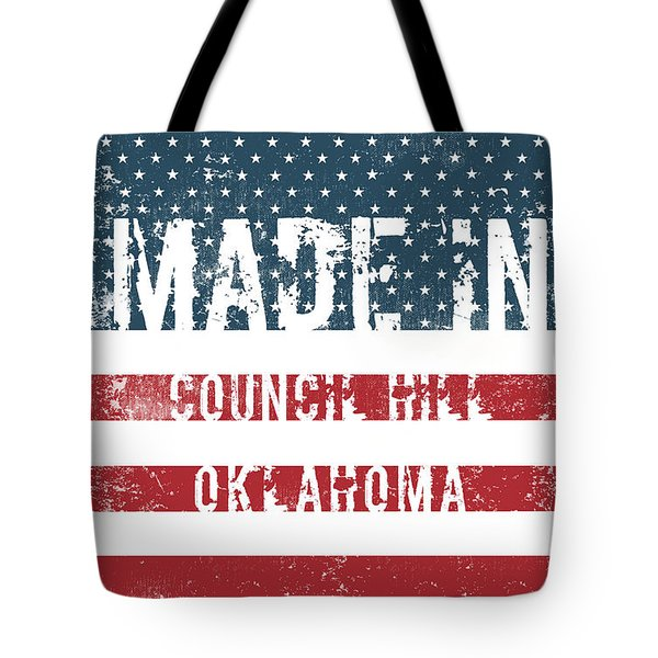 Made In Council Hill, Oklahoma Tote Bag