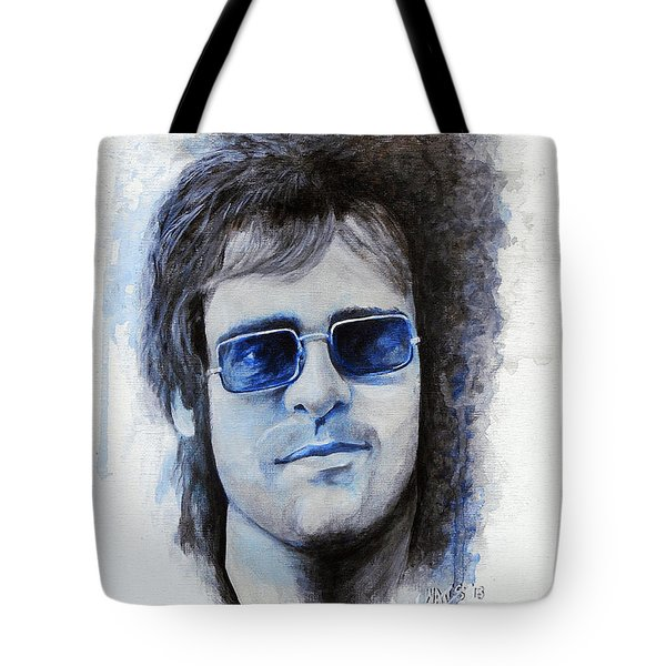 Madman Across The Water Tote Bag by William Walts