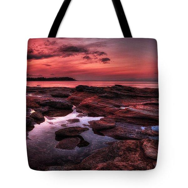 Madrona Tote Bag by Randy Hall