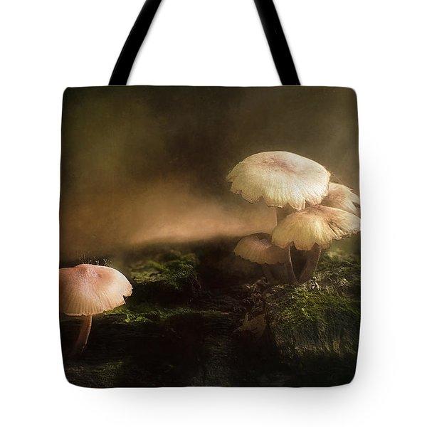 Magic Mushrooms Tote Bag