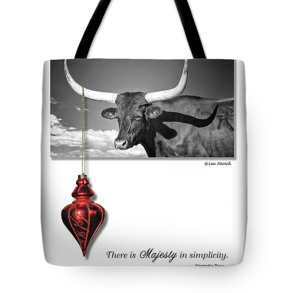 Majesty In Simplicity Tote Bag