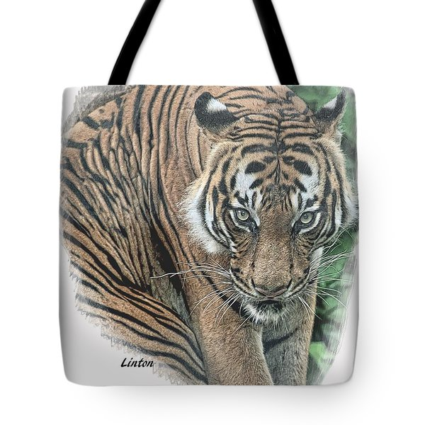 Malayan Tiger Tote Bag