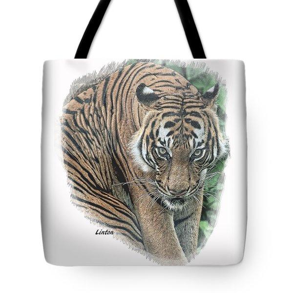 Malayan Tiger Tote Bag