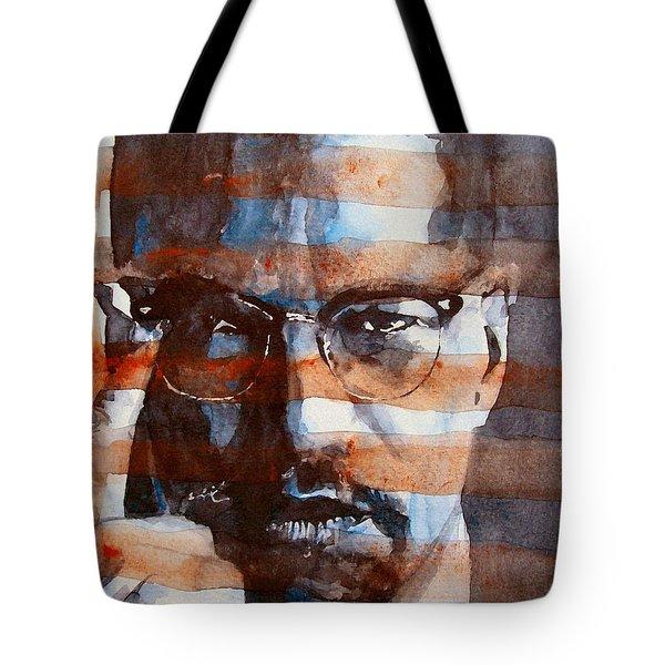 Malcolmx Tote Bag