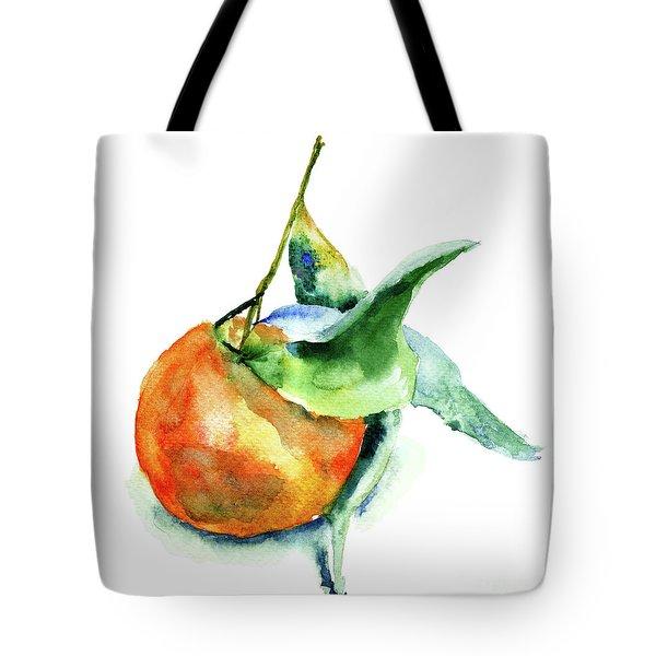 Mandarin Fruits Tote Bag