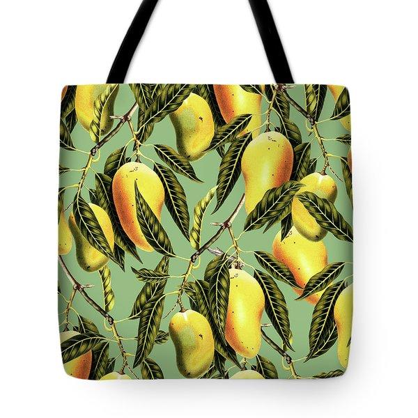 Mango Season Tote Bag by Uma Gokhale