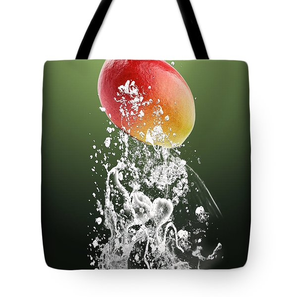 Mango Splash Tote Bag