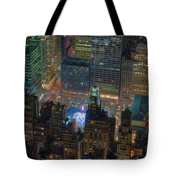 Manhattan Skyline 274 Tote Bag