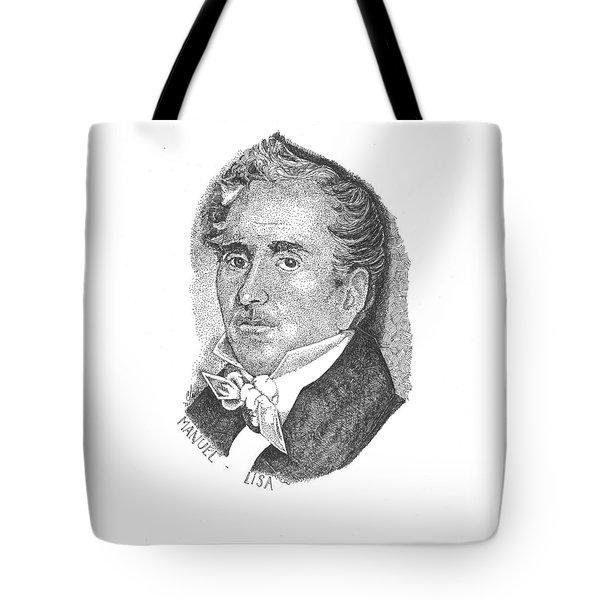 Manuel Lisa Tote Bag