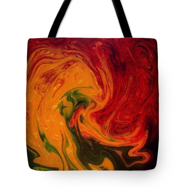 Marble Texture Tote Bag by Anton Kalinichev