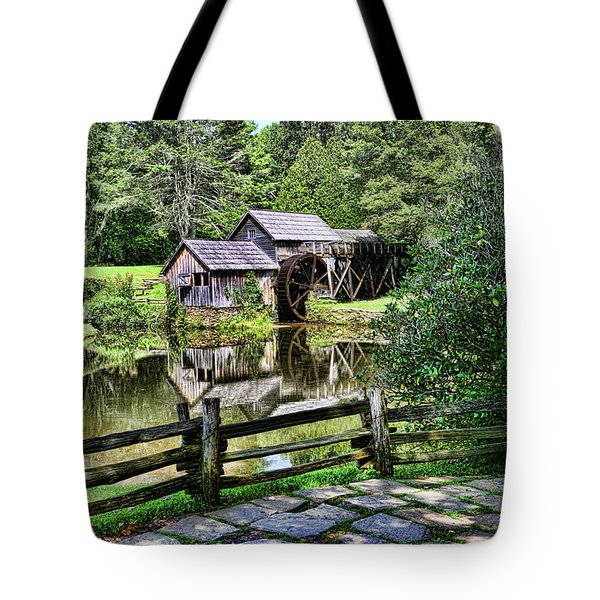 Marby Mill Pathway Tote Bag by Paul Ward