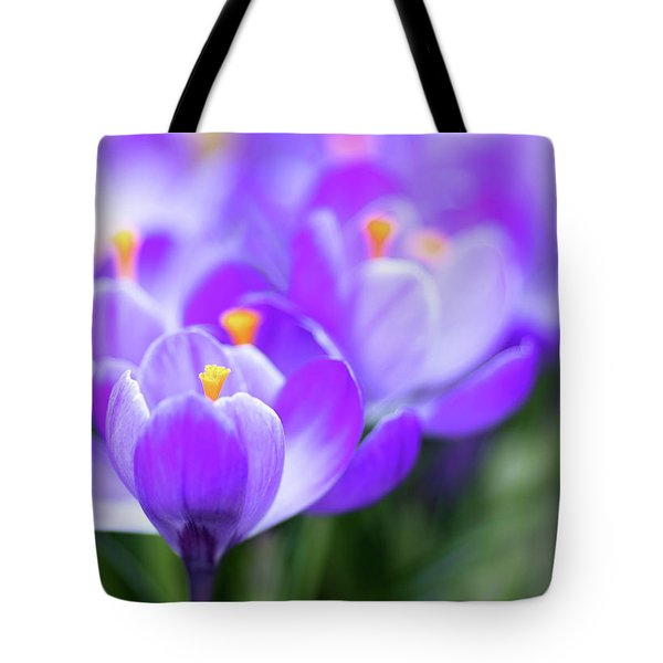 Marching Into Spring Tote Bag