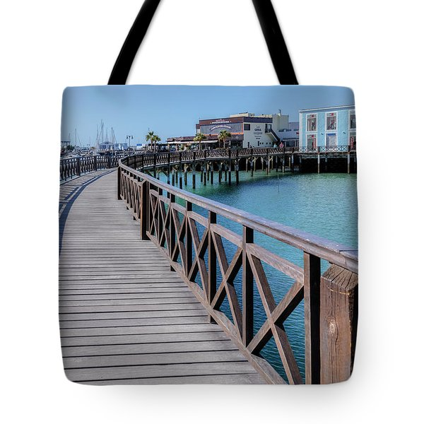 Marina Rubicon - Lanzarote Tote Bag