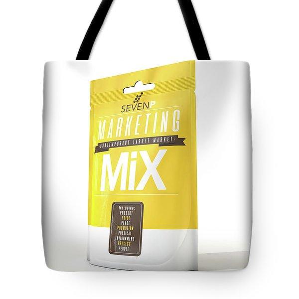 Marketing Mix 7 P's Tote Bag