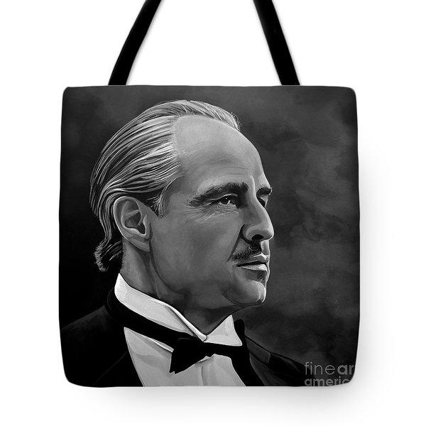 Marlon Brando Tote Bag