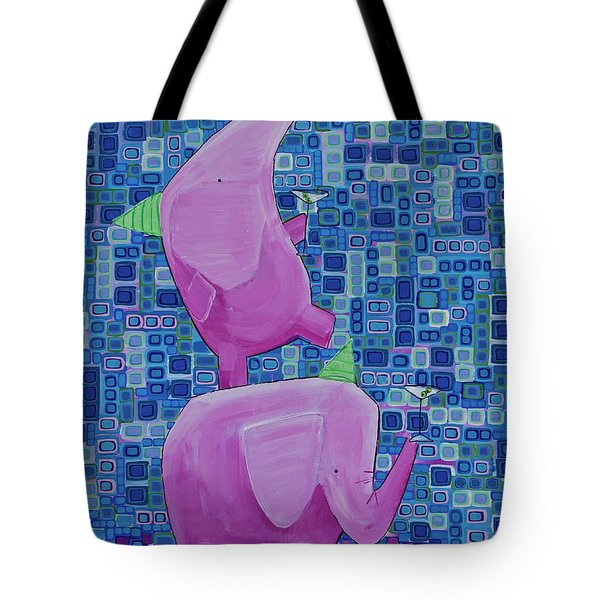 Martinis For Two Tote Bag