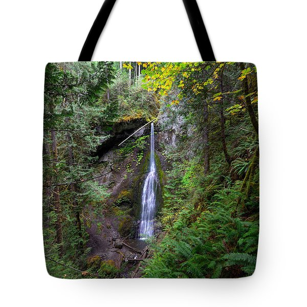 Marymere Falls Tote Bag
